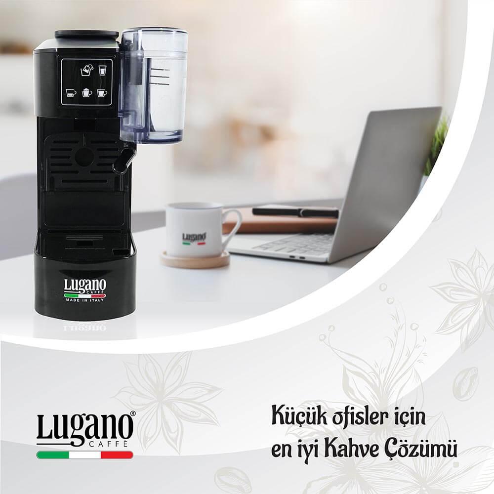 Lugano Caffé Creativa Kahve Makinesi - küçük ofisler için